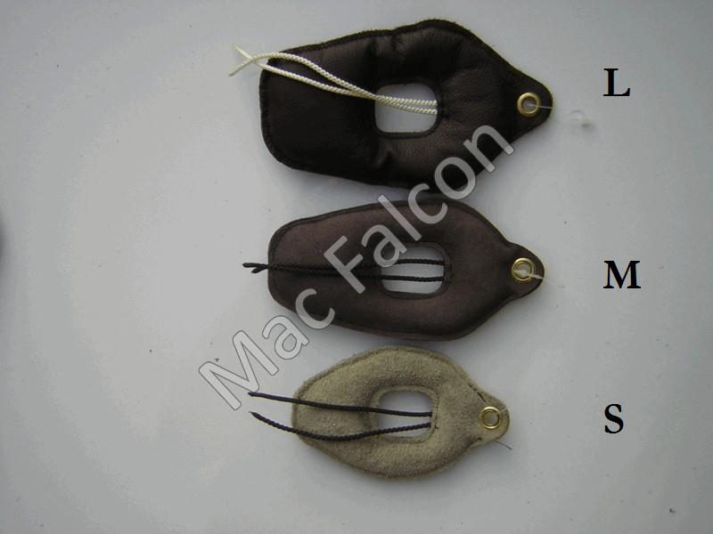 Leather lure, full. Size S