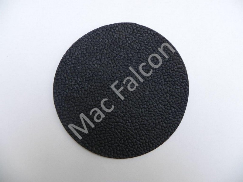 Rubber pads 3 mm thick with print customized 5 cm t/m 12 cm