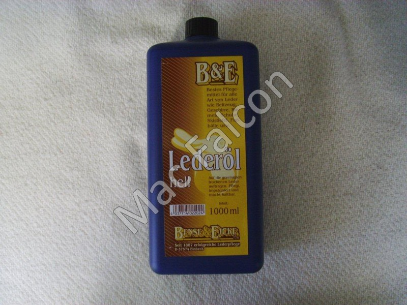 B&E Leather Oil 1000ml