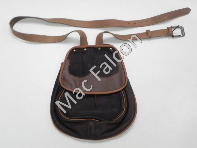 Mac Falcon, Top - Line hunting/demo shoulderbag with adjustable shoulder strap, brown / beige