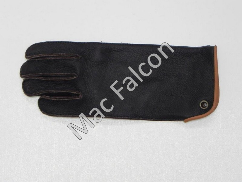 Mac Easy - Mac Falcon Top - Line Falconry glove, brown / beige, 1 layer and 30 cm long