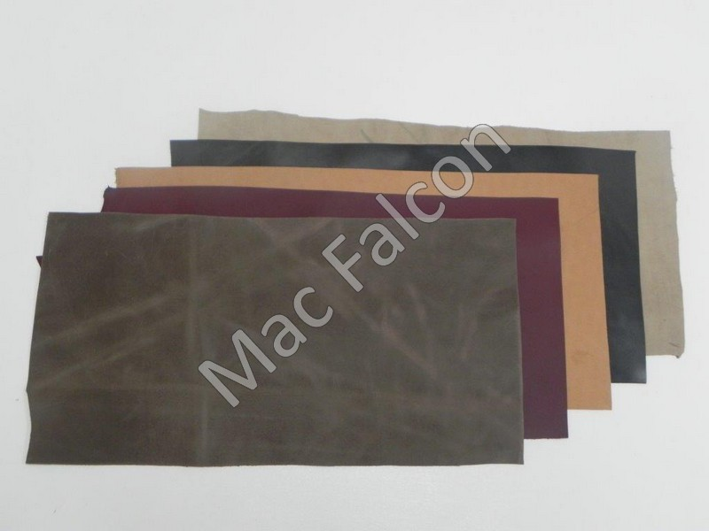 Cow leather for falconry pieces of 2 feet