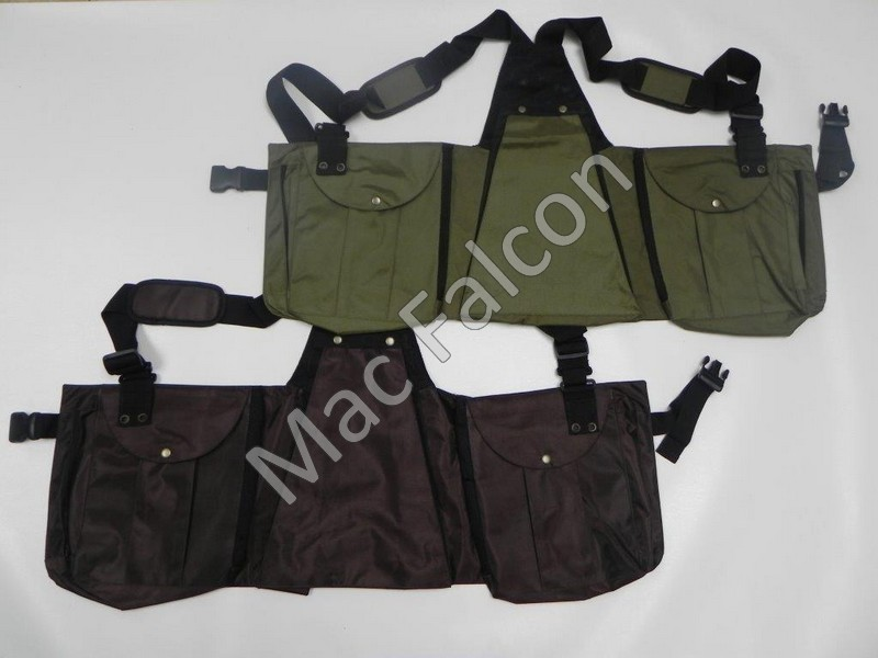 Mac Falcon, very strong Cordura falconry hunting / dummy vest